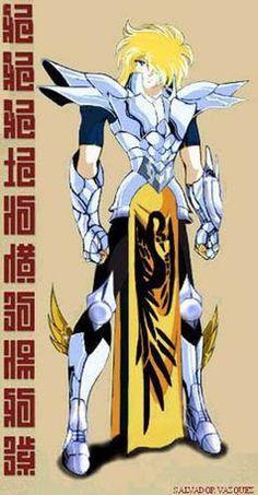 el cisne Hyoga // interesante armadura