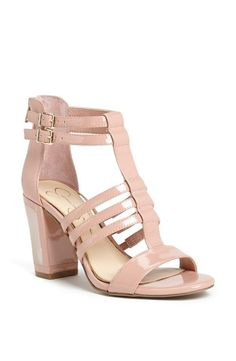 Love the chunky heel on this sandal!