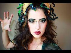 Medusa Makeup Ideas for a Fashion Show - Makeup Tips & Ideas Medusa Halloween, Medusa Costume, Halloween Makeup Looks, Costume Makeup, Halloween Costumes, Halloween 2015, Fashion Show Makeup, Fall Fashion Outfits, Medusa Make-up