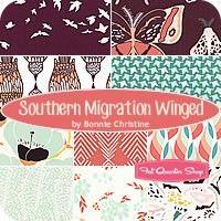 Southern Migration Winged Fat Quarter BundleBonnie Christine for Art Gallery Fabrics