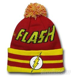 Flash Hero Logo Point Knit Beanie