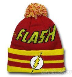 Flash Hero Logo Point Knit Beanie