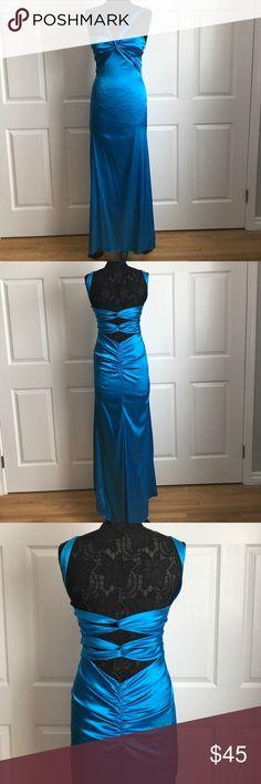 Zum Zum Prom Dress Zum Zum Royal Blue Prom dress with a beautiful back design Zum Zum by Niki Livas Dresses Prom