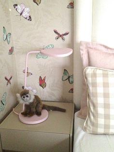 Muuto pink Leaf table lamp, girls room www.livingdelux.com Pink Leaves, Monkey Business, Leaf Table, Table Lamp, Girls, Blog, Toddler Girls, Table Lamps, Daughters
