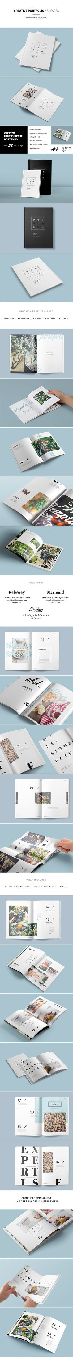 Image-based portfolio. Can be used as a magazine, brochure, catalog or photo album. Booklet, brochure, catalog, clean, creative, design, editorial, lookbook, mag, magazine, minimal, portfolio, photobook, simple, template
