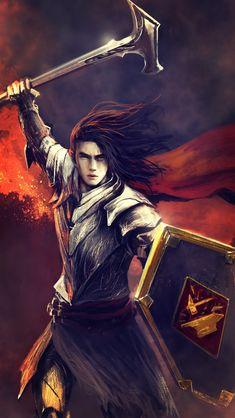 罗格(Rog):是第一纪元生活Lord of the House of the Hammer of Wrath, by Egalmoth