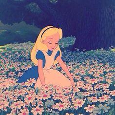 アリス 花 ディズニーの画像 プリ画像