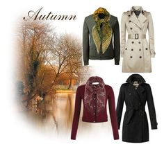 Designer Clothes, Shoes & Bags for Women Lands End, Burberry, Valentino, Autumn, Coat, Polyvore, Jackets, Stuff To Buy, Shopping