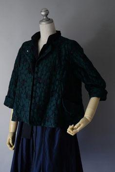 M53715 ラッセルクラシックフラワージャケット M53817 ラッセルクラシックフラワースカート : lace diary #miyaco #fashion #lace #jacket