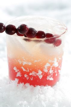 Skinny Cocktail: Cranberry Syrup + Vanilla Vodka