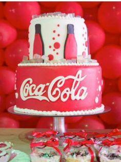 Astounding Coca Cola Cakes Funny Birthday Cards Online Necthendildamsfinfo