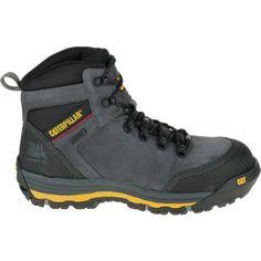 CAT Men's Munising 6'' Waterproof Composite Toe Work Boots, Dark Shadow