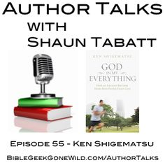 Episode 55 of Author Talks with Shaun Tabatt just went live. This time around, I speak with pastor Ken Shigematsu about his new book God in My Everything: How an Ancient Rhythm Helps Busy People Enjoy God (Zondervan, 2013).  The interview is available to stream or download here:  http://BibleGeekGoneWild.com/055