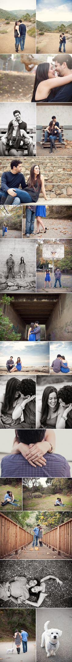Jessica + Eric: Malibu Camp Engagement Photographer    Marianne Wilson Photography