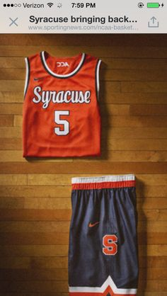 2014 Nike Hyper Elite Dominance Syracuse Orange Uniform Syracuse Basketball e113b5cec