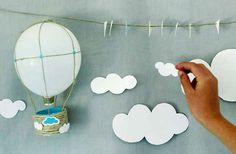 Figuras de papel para decorar tu dormitorio