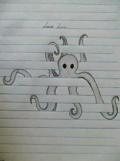 From (Raily Lima) Octopus. From (Raily Lima) wallpaperpinteres Octopus. From (Raily Lima) Octopus. From (Raily Lima) wallpaperpinteres Drawings ✏️ Octopus. From (Raily Lima) Octopus. From (Raily Lima) wallpaperpinteres Drawings ✏️ Cool Art Drawings, Pencil Art Drawings, Art Drawings Sketches, Animal Drawings, Tattoo Drawings, Animal Illustrations, Easy Drawings Of Animals, Cool Drawings For Kids, Cute Animals To Draw