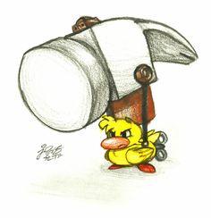 """THE BOSS RUSH - Upset - (Theme: """"Hammer Duckie"""")"""
