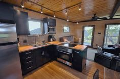 504-sq-ft-kanga-modern-cabin-with-breezeway-porch-00025 Love the layout of this kitchen!