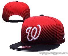 4ee482df46d92 Washington Nationals MLB Line Fade Snapback Hats
