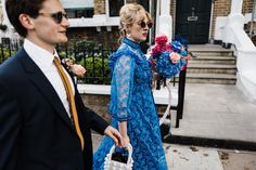 @throughthewoodsweran's original caption was 'Hot to the damn Vol II', and we have to agree. What a dress! 🙌🏻 We Run, Creative Wedding Photography, Blue Wedding Dresses, White Dress, Fashion, Moda, Fashion Styles, Fashion Illustrations, Blue Homecoming Dresses