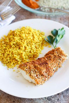 Hemp seed crusted cod is the perfect easy dinner featuring a crunchy, slightly spicy crust on top a perfectly cooked flaky fillet of fish. PSSST have you signed up to reserve your spot in the healthy Organic Dinner Recipes, Easy Dinner Recipes, Easy Meals, Shellfish Recipes, Seafood Recipes, Baked Cod Recipes, Healthy Recipes, Healthy Foods, Fodmap