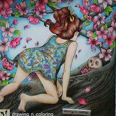 Que incrível! By @drawing_n_coloring_ #dariasong #thetimegarden…