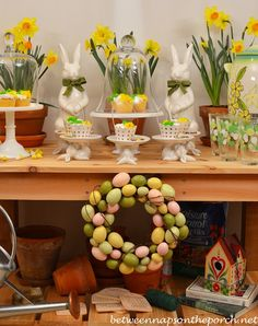 Between Naps on the Porch | Spring Dessert Buffet for An Outdoor Party | http://betweennapsontheporch.net