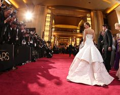 Jennifer Lawrence arriving at The 85th Annual Academy Awards 24/02/2013