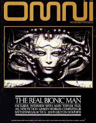OMNI cover by HR Giger November 1978