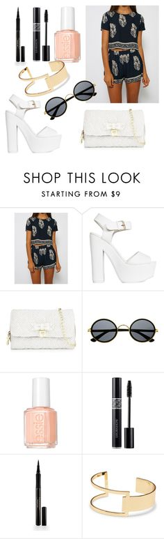 """""""Sheinside #2"""" by olga05 ❤ liked on Polyvore featuring Nly Shoes, Betsey Johnson, Retrò, Essie, Elizabeth Arden and Sole Society"""