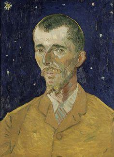 Vincent Van Gogh Eugene Boch Portrait