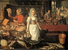 Lazarus and the rich man, 1620.  Pieter Cornelisz van Rijck