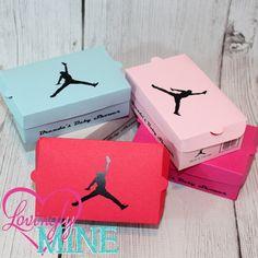 mini jordan shoe box