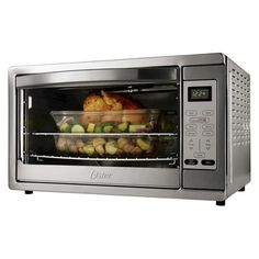 Cooking dinner will be a breeze when you have this Oster Extra-Large Digital Countertop Oven. This countertop oven can do it all - you may be tempted to ditch the traditional oven that takes up so much space. Small Kitchen Appliances, Kitchen Tools, Cool Kitchens, Kitchen Dining, Kitchen Stuff, Kitchen Gadgets, Kitchen Electronics, Pizza Kitchen, Kitchen Oven