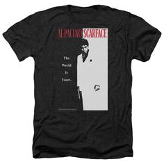 Scarface: Classic Heather T-Shirt
