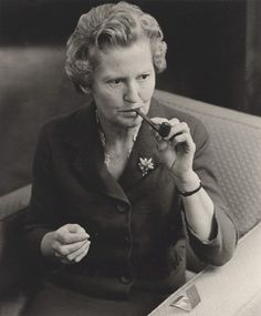Mary Dunhill Chairman of the Dunhill Group and author; daughter of Alfred Dunhill // photo by Lewis Morley People Smoking, Man Smoking, Cigar Smoking, Tobacco Pipe Smoking, Tobacco Pipes, Dunhill Pipes, Peace Pipe, Women Smoking Cigars, Briar Pipe