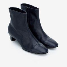Round Blue Boot