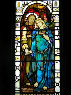 """Legends of the Divine Feminine: """"Mary has chosen the higher path"""" – The Magnificent Magdalene Window in Mull, and its message of Mary's importance"""