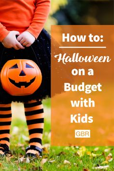 With a little creativity, you can give your kids a fun and spooky Halloween while staying on a budget.