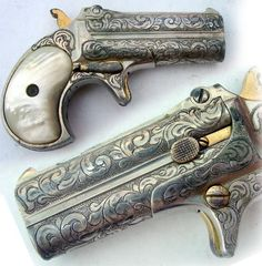 Engraved Derringer pocket pistol | GUNS & RIFLES | Pinterest ...