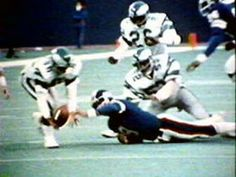 Nov 19, 1978, Meadowlands, East Rutherford, NJ - The miracle at the Meadowlands.  Eagles Herman Edwards picks up fumble by Larry Csonka and runs in for a score giving the Eagles a 19-17 last second surprise victory over the NY Giants.  All quarterback Joe Pisarcik had to do was take a knee to give NY the win.