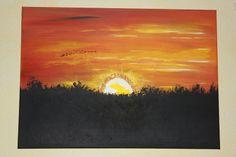 Sonnenuntergang mit glänzendem Citrin von TRAUMnetz.com     ** DReamcatcher u.v.m.  ** auf DaWanda.com