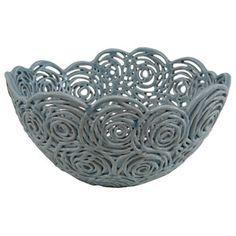 Harvey Ceramic Rosette Bowl