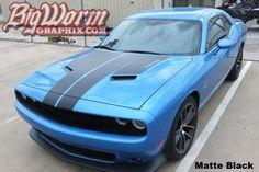 2015-17 Challenger Dual Hood Stripes