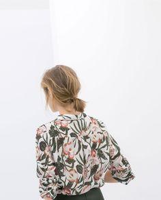 chemisier imprimé - Zara