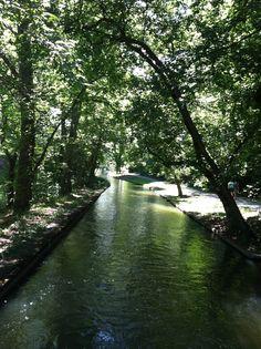 Brandywine River park,  Wilmington, Delaware.
