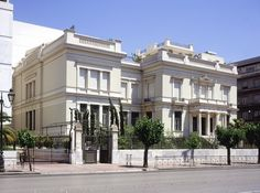 Benaki Museum in Athens, Greece.  Museum of Greek History and Culture.
