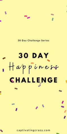 Feel happier in just 30 days with this amazing 30 day happiness challenge Feeling Happy, How Are You Feeling, Compliment Someone, Mind Thoughts, Happiness Challenge, Ways To Be Happier, Gym Workout Tips, Self Care Activities, True Happiness