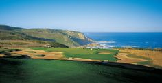 Conrad Pezula Resort and Spa, George, South Africa - Indian Ocean view from tee Golf Holidays, Golf Tour, Golf Lessons, Ocean Beach, Resort Spa, Dream Vacations, Us Travel, View Photos, Golf Clubs